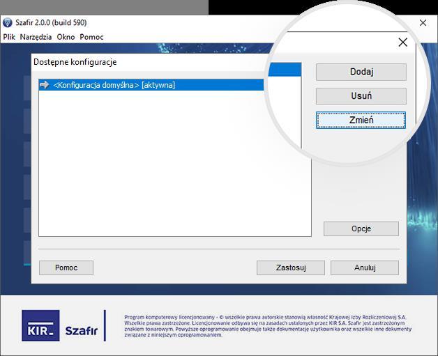 Jak ustawić podpis składany na biznes.gov.pl - Szafir 2.00 - krok 2